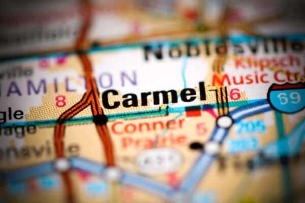 carmel-indiana-map