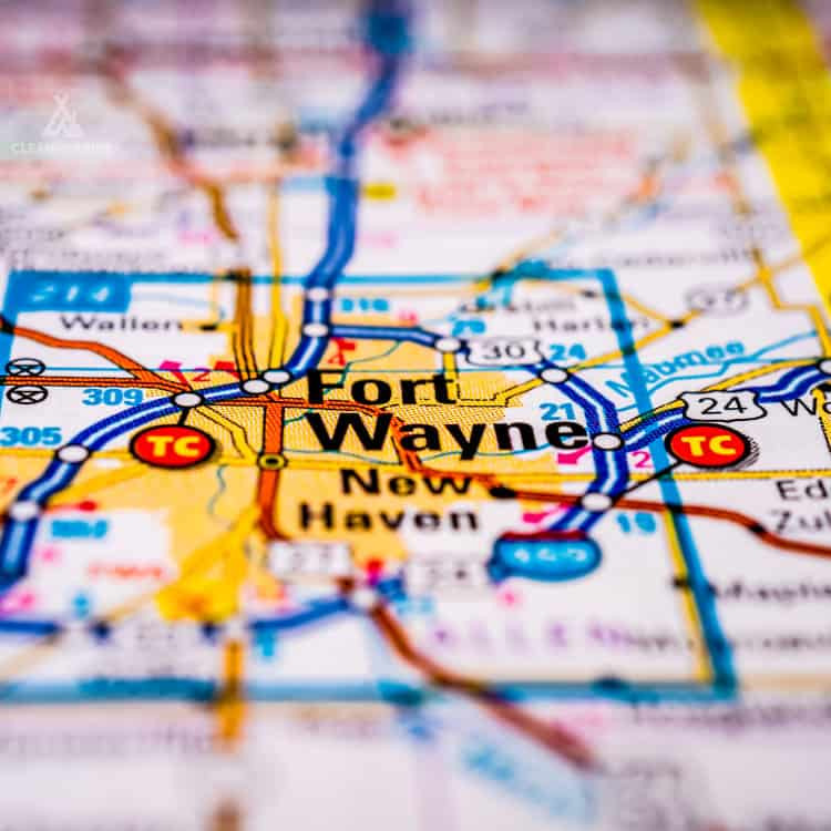 map-fort-wayne-indiana