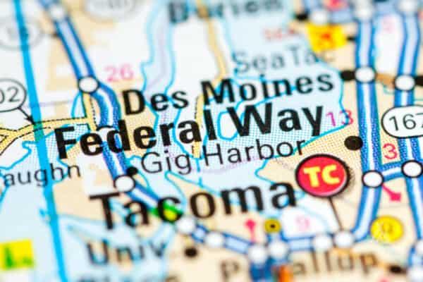 federal-way-washington-map